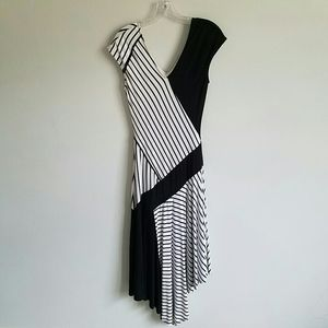 Cato dress Black and White size S